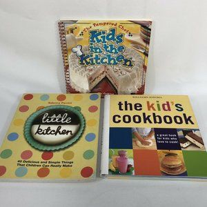 Lot of 3 Cookbooks for Children Williams Sonoma